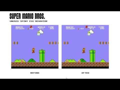 Super Mario Bros. Unused Spiny Egg Behavior