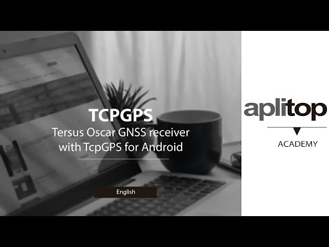 Tersus Oscar GNSS receiver with TcpGPS for Android