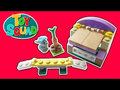 Vidéo LEGO Friends 41022 : Le lapin et son clapier