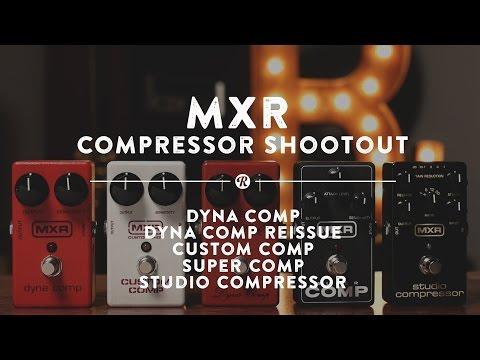 DUNLOP MXR M132 SuperComp Kytarový efekt