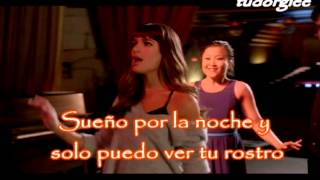 Every breath you take - Glee version - Spanish (letra en español) - Lea Michele y Naya Rivera