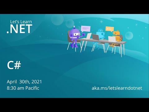 Let's Learn .NET - C#
