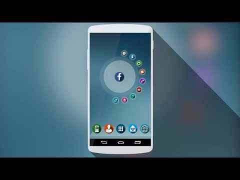 Video of Next Launcher Theme Shader