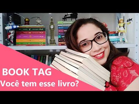 BOOK TAG - VOCÊ TEM ESSE LIVRO? ? | Biblioteca da Rô