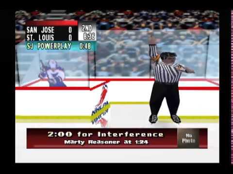 NHL Breakaway 99 - San Jose Sharks vs St Louis Blues
