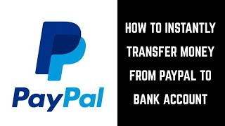 What is bank transfers in paypal
