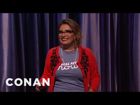 Cristela Alonzo Stand-Up 01/08/17  - CONAN on TBS