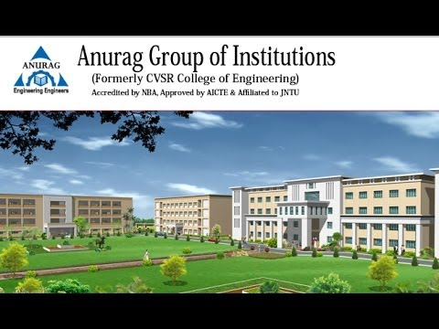 Anurag Group of Institutions, Ghatkesar - courses, fee, cut off