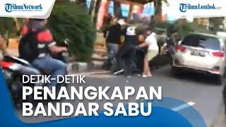 Detik-Detik Bandar Sabu Ditangkap, Polisi Lepaskan Tembakan Peringatan, Ratusan Kilogram Sabu Disita