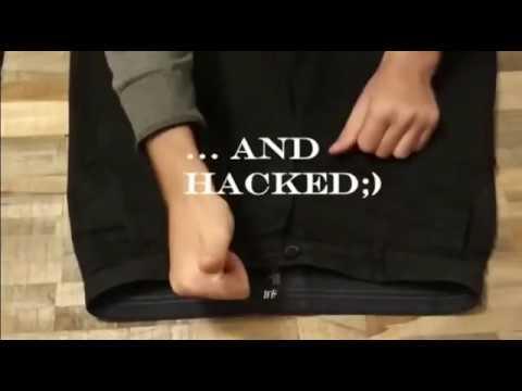 Hosenbund ganz einfach vergrößern! Kein nähen | LIFeHaCk!!!