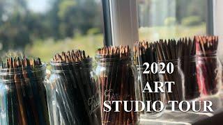 FULL ARTIST STUDIO TOUR!! | 2020