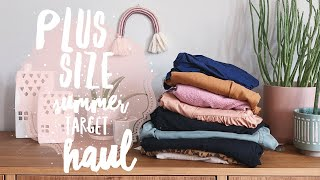 PLUS SIZE SUMMER TARGET HAUL | A NEW DAY Dresses, Shirts, & Shorts XL - XXL (July 1, 2020)