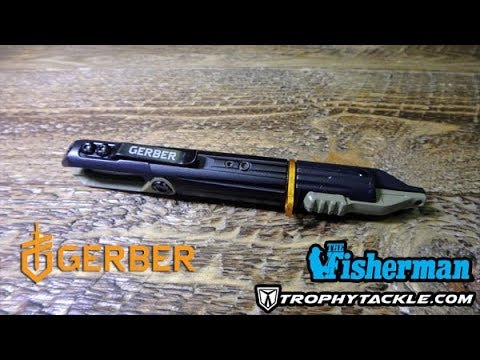 THE FISHERMAN'S ICAST 2017 NEW PRODUCT SHOWCASE – GERBER
