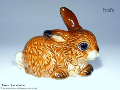Porzellan Hase Figur Goebel 34814 - 06