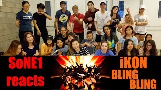 iKON - BLING BLING M/V Reaction by SoNE1