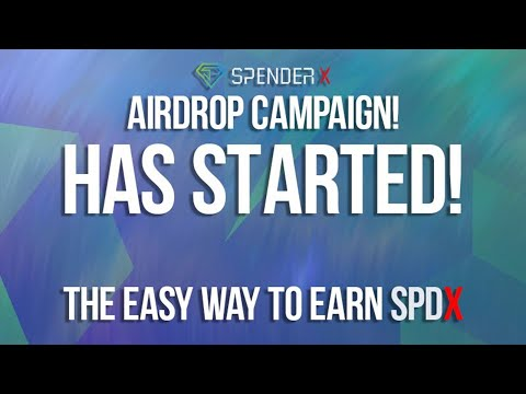 Ganhe 12,500 Tokens SPDX Grátis no Formulario de Airdrop Spender X . OFICIAL !