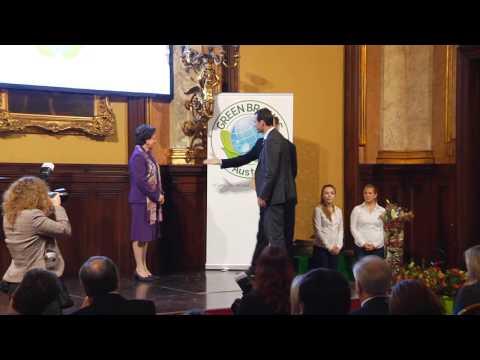 GREEN BRANDS Austria Gala 2012 – Ehrungen