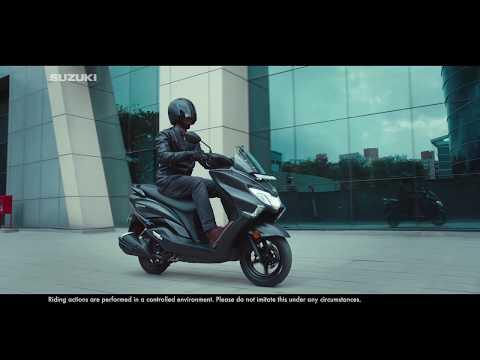 Suzuki Burgman Street - TVC