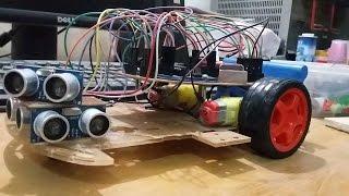 Arduino | Maze Solving Robot (MicroMouse) \ Wall Following