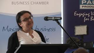 October Business Breakfast - Clair Messiha from IMB