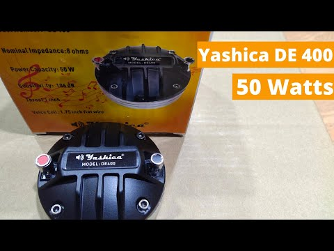 Yashica Tweeter DE-400
