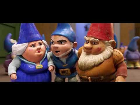 SHERLOCK GNOMES Official Trailer 2018 Johnny Depp Animation - ALLaTRAILERS