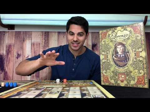 BATHING IN CARDS...in the best way...LORENZO REVIEW