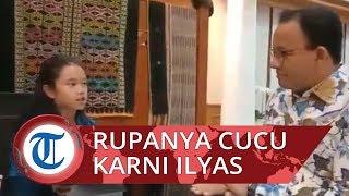 Anies Baswedan Diwawancarai Bocah SD Pakai Bahasa Inggris, Rupanya Cucu Karni Ilyas