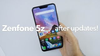 Asus Zenfone 5z ZS620KL After 2 Months New Features with Updates