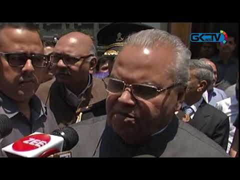 Sharing intelligence inputs is duty of Pakistan: Jammu and Kashmir Governor Satya Pal Malik