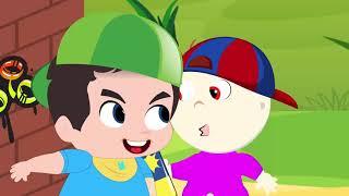 Johny Johny And My Friend  С Днем Рождения Смешные с моими друзьями  - Образовательное видео для д