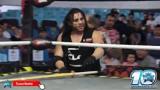 El Zorro Vs Lince De Oro Vs Memo Valle En Lucha Libre KAOZ En La Arena Coliseo De Monterrey