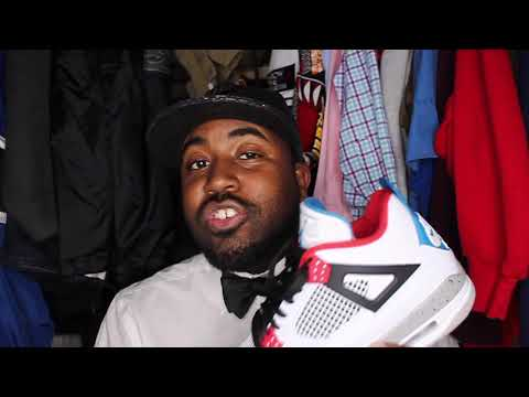 """The Butler's Pantry Episode 005: Air Jordan 4 Retro """"What The?"""" Review"""