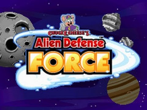 Chuck E. Cheese's Alien Defense Force Nintendo DS