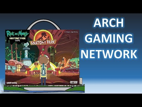 Review: Rick & Morty Anatomy Park w/Setup and How to Play