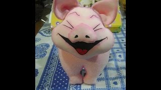 Мягкая игрушка  Хрюшка-хохотушка своими руками. How to make a fun toy pig
