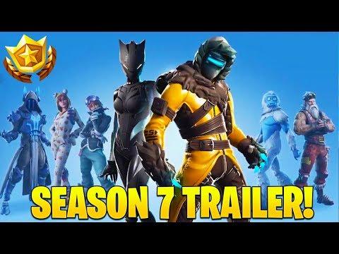 Fortnite Season 7 Battle Pass - Fortnite Season 7 Official Trailer