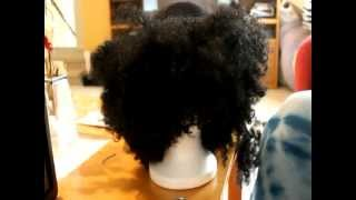 How to: Finger Comber Unit Using Kinky Comber Hair