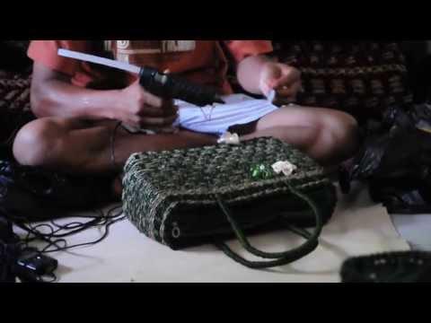 Video Cara Pembuatan Tas Anyaman [Finishing]