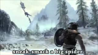 LITERAL Skyrim Trailer 2 hour loop