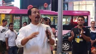 Dato M Nasir datang masa Uchop sedang nyanyi....