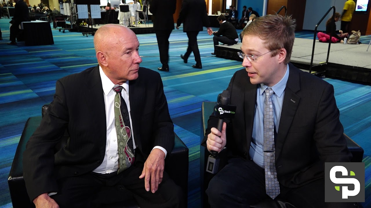 Peter Bell Muses with Mickey on the Markets at the 2018 PDAC in Toronto