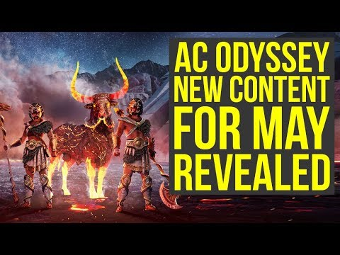 Assassin's Creed Odyssey DLC - New Content For May REVEALED (AC Odyssey DLC)
