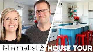 "💚New: Minimalist Family HOUSE TOUR 🏠 ""Don't make us look WEIRD!""😉(Family Minimalism 2019)"