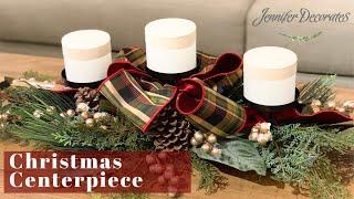 Christmas Decorating | Christmas Centerpiece Ideas