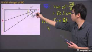 Combination Of SohCahToa And Ratios To Find The Lengths And Angels Of Special Triangles