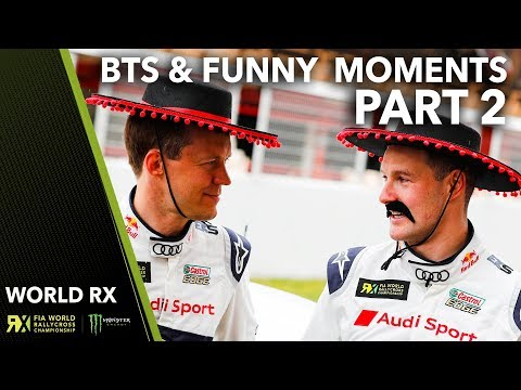 Funny Moments & Behind the Scenes at World RX 2018! | Part 2