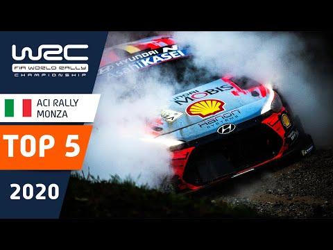 WRC 第7戦ラリー・モンツァ 記憶に残る名シーントップ5の動画