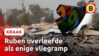 9-jarige die Tripoli-vliegramp overleefde maakt het goed | Omroep Brabant
