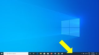 How to Unlock Taskbar on Windows 10